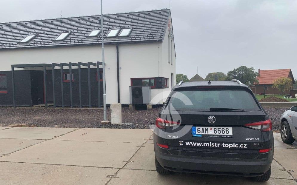 Instalace tepelného čerpadla Nibe v Rakově realizovaná Mistrem TOPIČEM