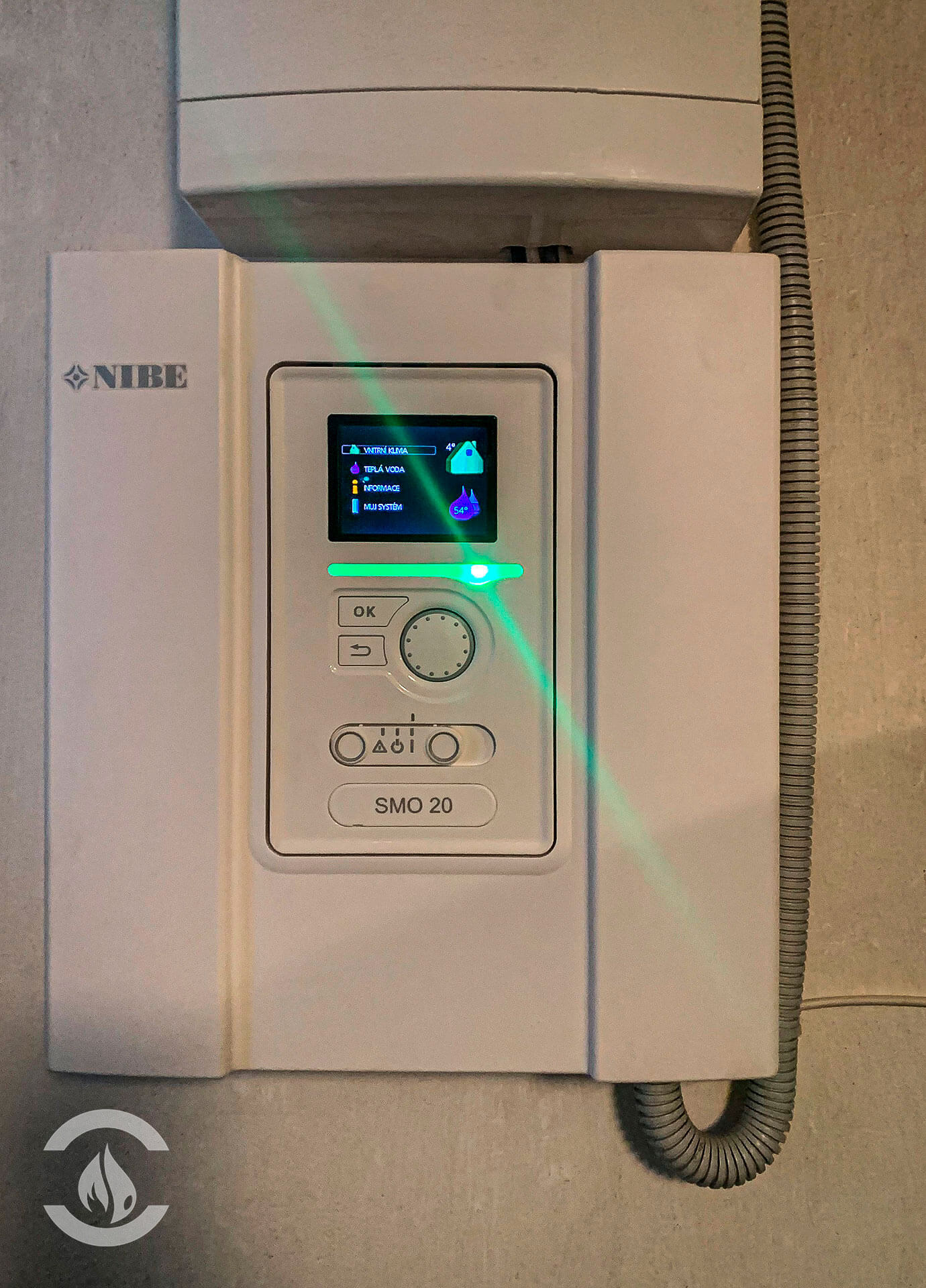 Tepelné čerpadlo NIBE F2120-12 8kW